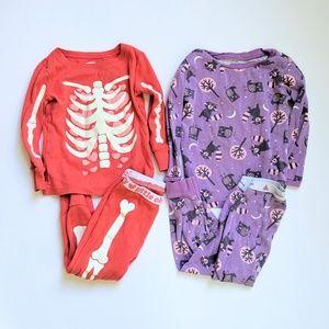 Halloween pajamas in 18-24mo